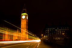 Big Ben at Night Royalty Free Stock Photography