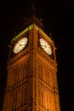Big Ben at Night. London, UK Stock Images