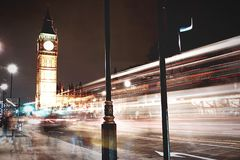 Big Ben. Night in the Stock Images