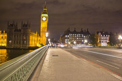 Big Ben by night, London Royalty Free Stock Photo