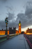 Big Ben at night, London Royalty Free Stock Photo