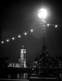 Big Ben by night Stock Photography