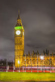 Big Ben at at night, London Royalty Free Stock Photos