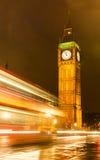 Big Ben at night, London. Big Ben at night London England Stock Photo