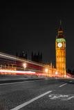 Big Ben at night, London Royalty Free Stock Images