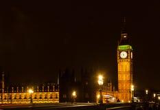 Big Ben at night, London, uk. Big Ben at night, London Stock Images