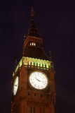 Big Ben at night, London, UK Royalty Free Stock Photos