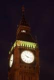 Big Ben at night, London, UK Royalty Free Stock Photos
