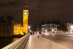 Big Ben by night, London. UK Royalty Free Stock Image