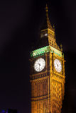 Big ben at night london uk Royalty Free Stock Photography