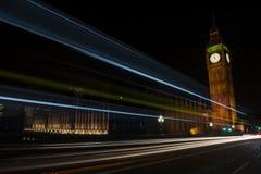 Big Ben by Night Stock Image