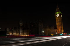 Big Ben by Night Royalty Free Stock Photography
