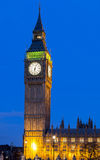 Big Ben at night. This is a picture of Big Ben at night Stock Image