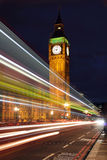 Big Ben by night scene Royalty Free Stock Images