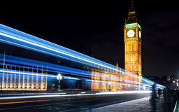 Big ben night Stock Photos