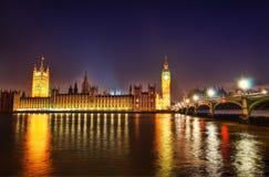 Big Ben at Night. Taken in 2011 taken in HDR Stock Image
