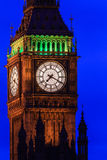 Big Ben at night, Westminster in London, UK Stock Photos