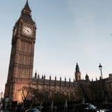 Big Ben no inverno fotos de stock royalty free