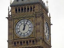 Big Ben O'Clock Stock Image