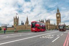 Big Ben och hus av parlamentet, London, UK Royaltyfri Fotografi