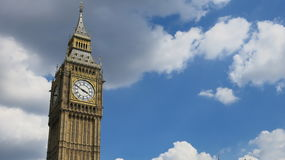 Big Ben. One of Britain's most famous landmarks, and a blue sky Stock Images