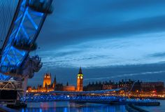 Big Ben and Palace of West Minster,London UK Stock Photography
