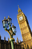 Big Ben and Palace of Westminster Stock Image