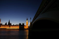 Big Ben and Palace of Westminster Royalty Free Stock Photos