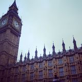 Big Ben. & the palace of westminster Royalty Free Stock Photos