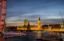 Big Ben and Palace of Westminster Royalty Free Stock Photography
