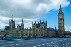Big Ben, the Palace of Westminster Royalty Free Stock Photo