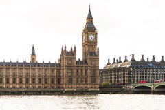 Big Ben and the Palace of Westminster Royalty Free Stock Image