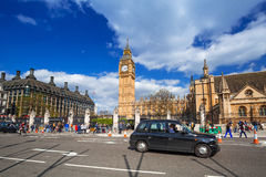 Big Ben and the Palace of Westminster in London Royalty Free Stock Photos