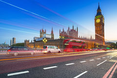 Big Ben and Palace of Westminster in London Royalty Free Stock Photos