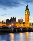 Big Ben and the Palace of Westminster, London, UK Royalty Free Stock Photos