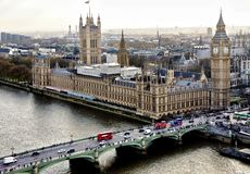 Big Ben & Palace Of Westminster royalty free stock image