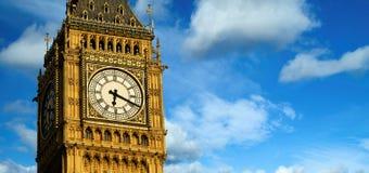 Big Ben panoramic. London, UK royalty free stock photo