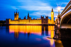 Big Ben and Parlament London Stock Photography
