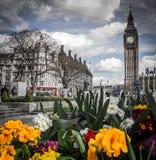 Big Ben, Parlament quadrieren Lizenzfreies Stockbild
