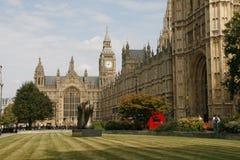 Big Ben, Parlament-zaal, Londen, het UK Royalty-vrije Stock Fotografie