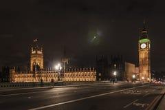 Big Ben & parlamentet Royaltyfria Foton