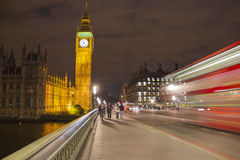 The Big Ben and the Parliament Stock Photos