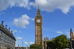 Big Ben. Parliament and Big Ben in London, England Royalty Free Stock Photography
