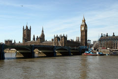 Big Ben and Parliament building Royalty Free Stock Image