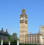 Big Ben and the Parliament Royalty Free Stock Photography