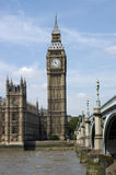 Big Ben and Parliament in London Royalty Free Stock Image