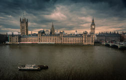 Big Ben and Parliament Royalty Free Stock Photo