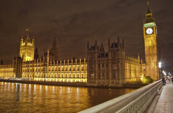 Big Ben and the Parliament Royalty Free Stock Image