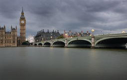 Big Ben and the Parliament Stock Images