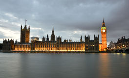 Big Ben and the Parliament Royalty Free Stock Images